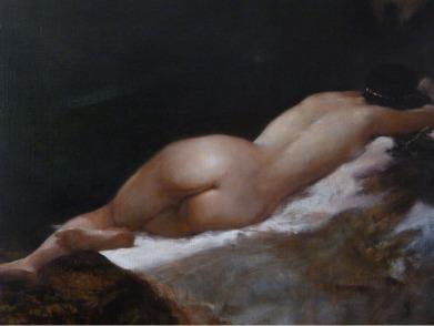 JA04 - LA PARURE D'OR / 50 x 60 huile sur toile / 700 €
